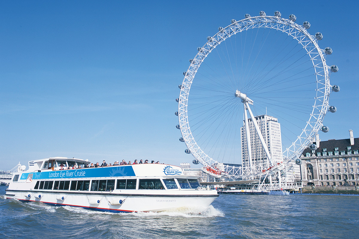 Family One Night London Break with Visit to The London Eye and Thames Sightseeing Cruise