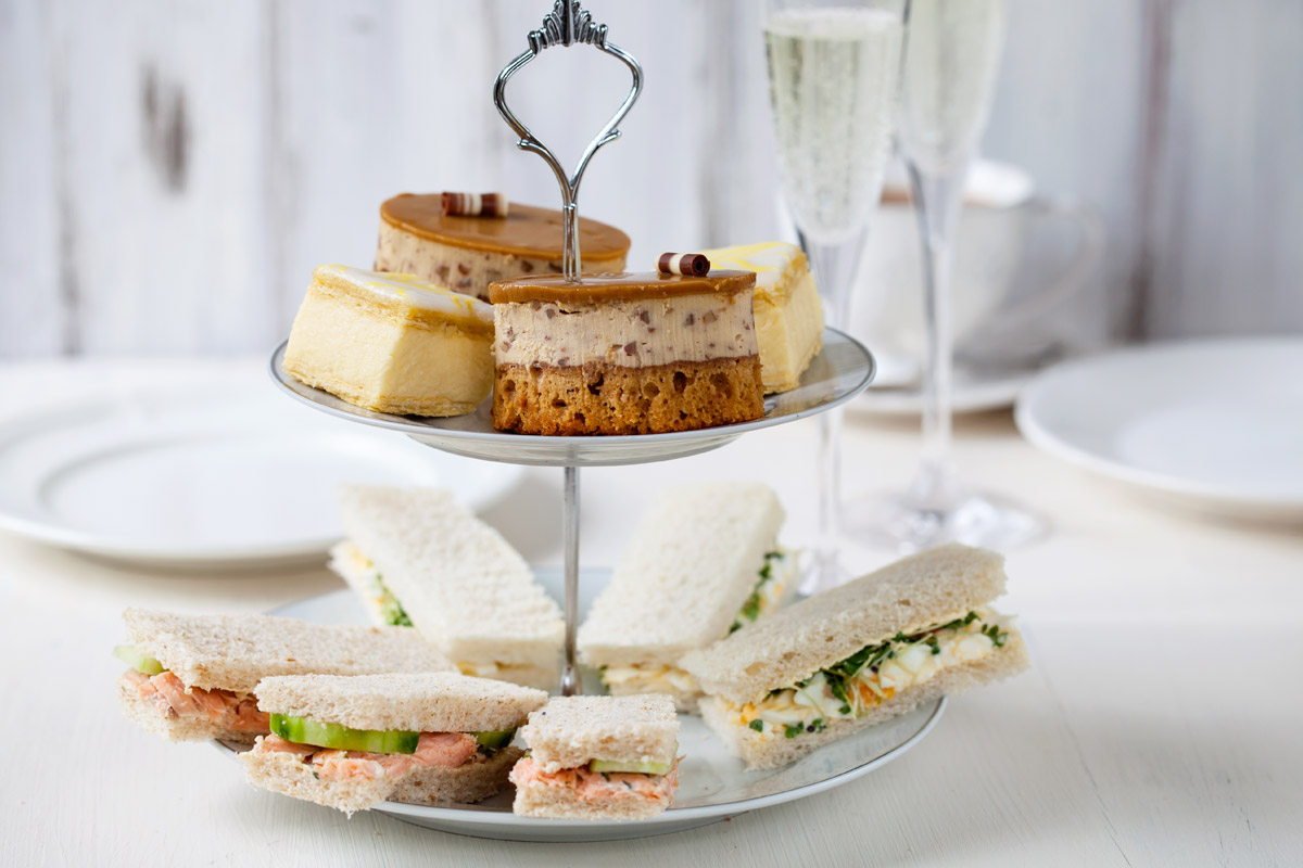 Sparkling Afternoon Tea for Two at Formby Hall Golf Resort and Spa