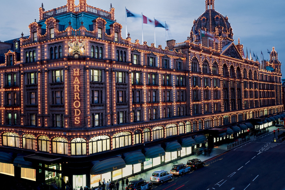 Cream Tea with a Glass of Champagne for Two at Harrods