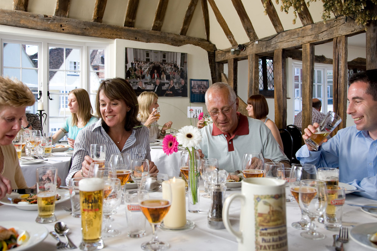 Shepherd Neame Beer and Food Evening for Two