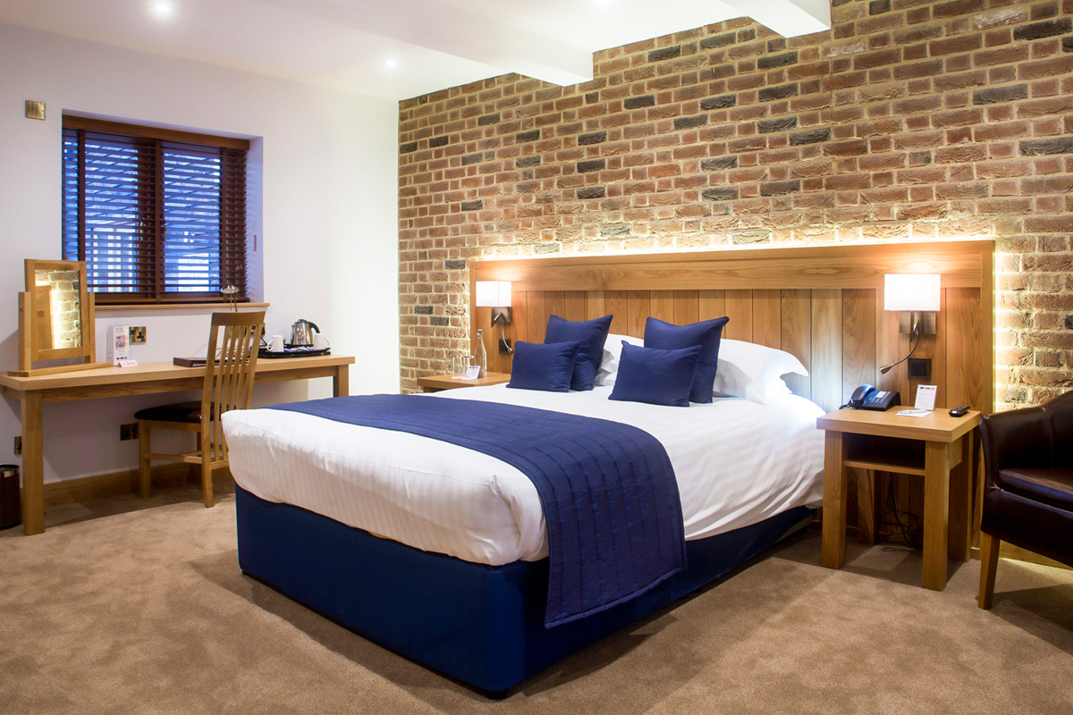 One Night Deluxe Break for Two at Tewin Bury Farm Hotel