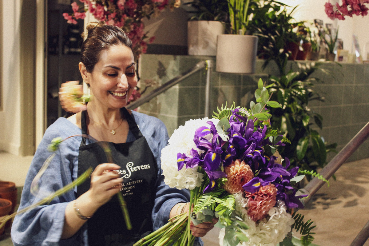 Design your Own Hand-Tied Bouquet with a Prestigious London Florist
