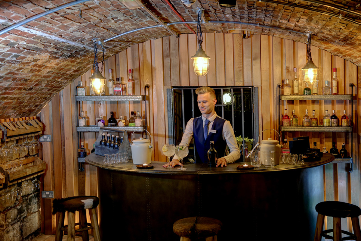 Discover the History of Gin with Tastings and Three Course Dinner for Two at Vault 52