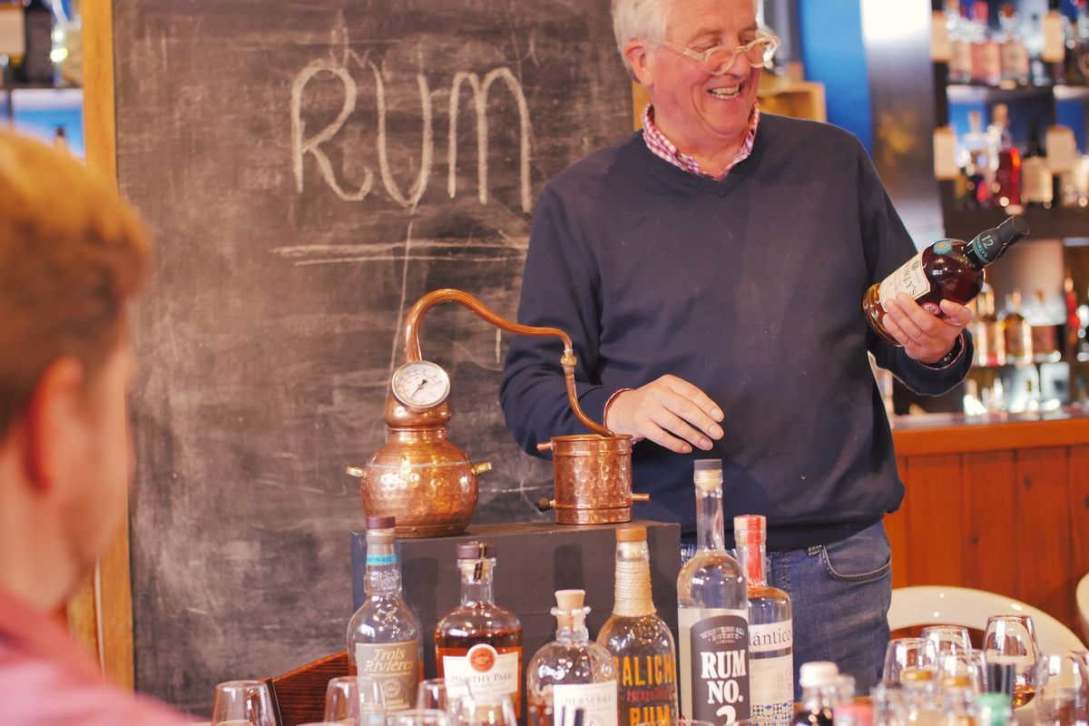 Discover the Origins and History of Rum with Tastings for Two at the Old School Distillery