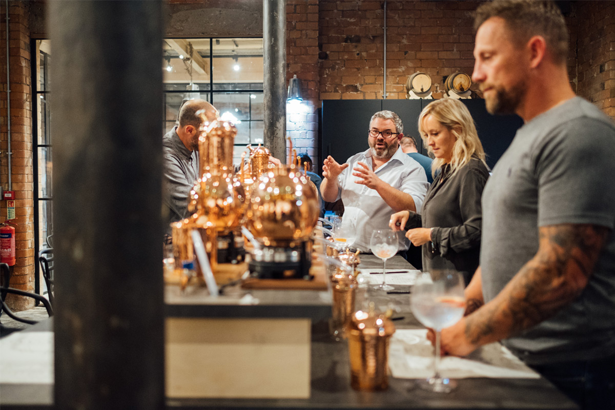 Distill Your Own Gin with G&Ts and Tour for Two at Piston Gin School