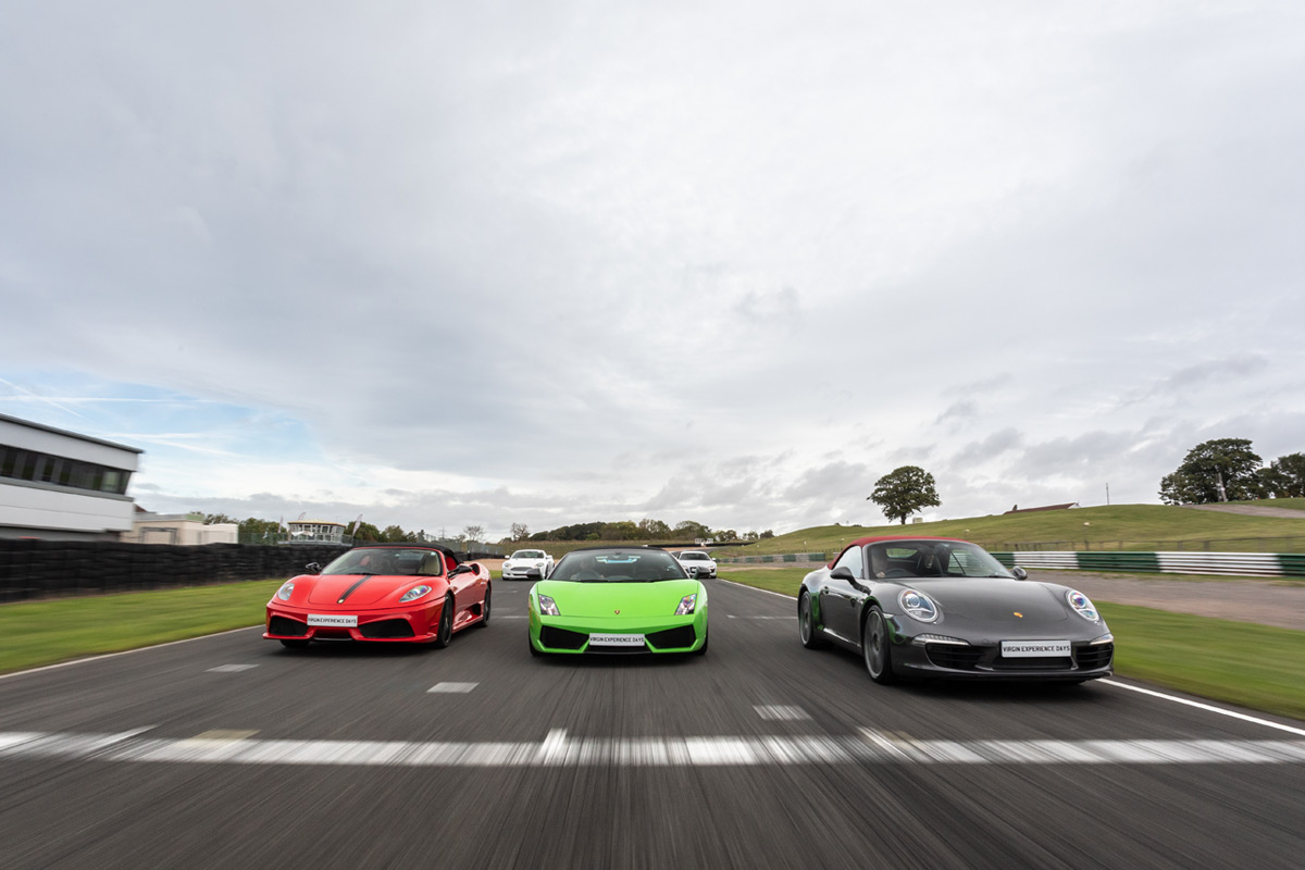Five Supercar Thrill plus High Speed Passenger Ride and Photo - Weekday