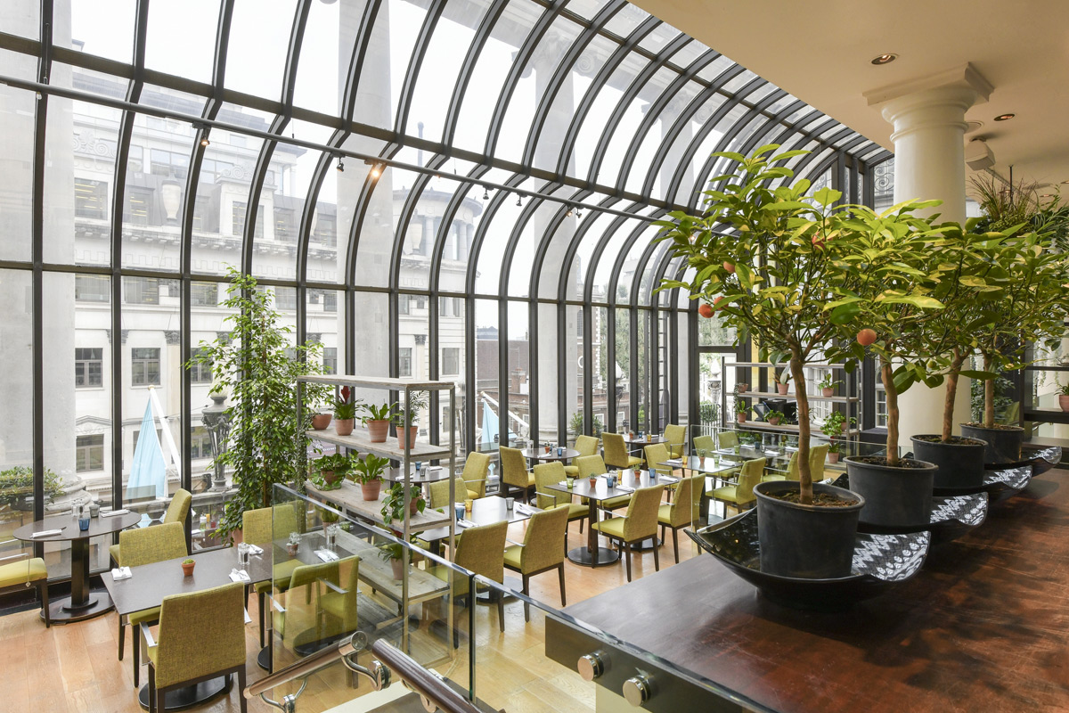 Free-Flowing Prosecco with Three Course Meal for Two at The Terrace on Piccadilly
