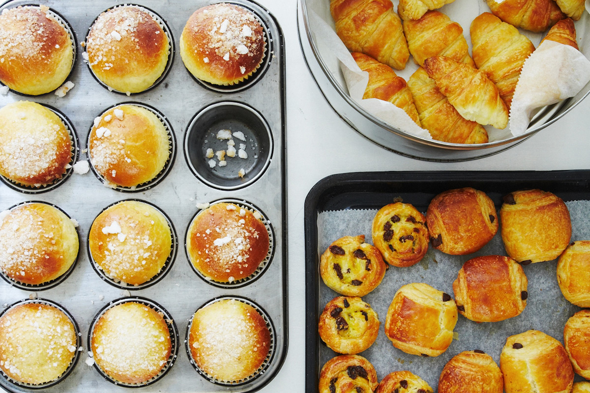 French Breakfast Pastries Class at The Cookery School at Little Portland Street