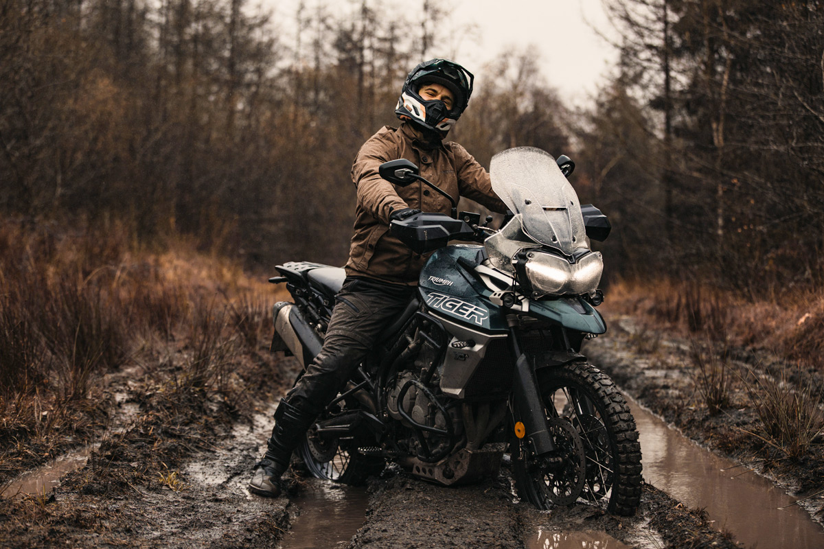 Full Day Scrambler Motorcycle Experience at Triumph Adventure
