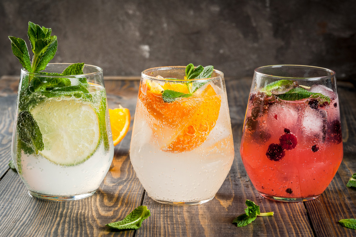 Gin Tasting Experience with Canape Workshop for Two at The Smart School of Cookery