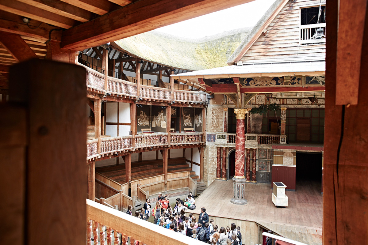 Guided Tour of Shakespeare's Globe Theatre with Meal at Gordon Ramsay's Union Street Café for Two