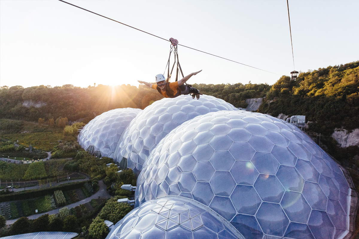 Hangloose at The Eden Project - Zip Wire, Big Air and Giant Swing