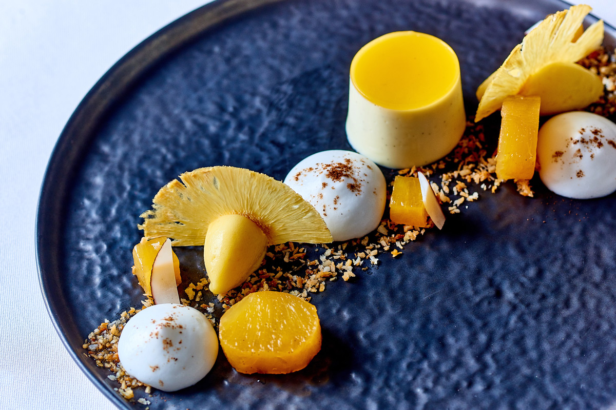 Michelin Eight Course Tasting Menu for Two with Matching Wine Flight at Michael Caines Lympstone Manor