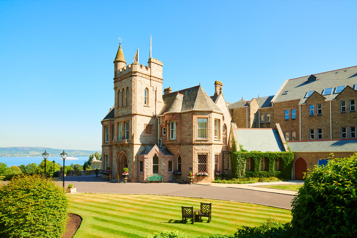 One Night Break with Four Course Fine Dining for Two at the Luxury 5* Culloden Estate and Spa