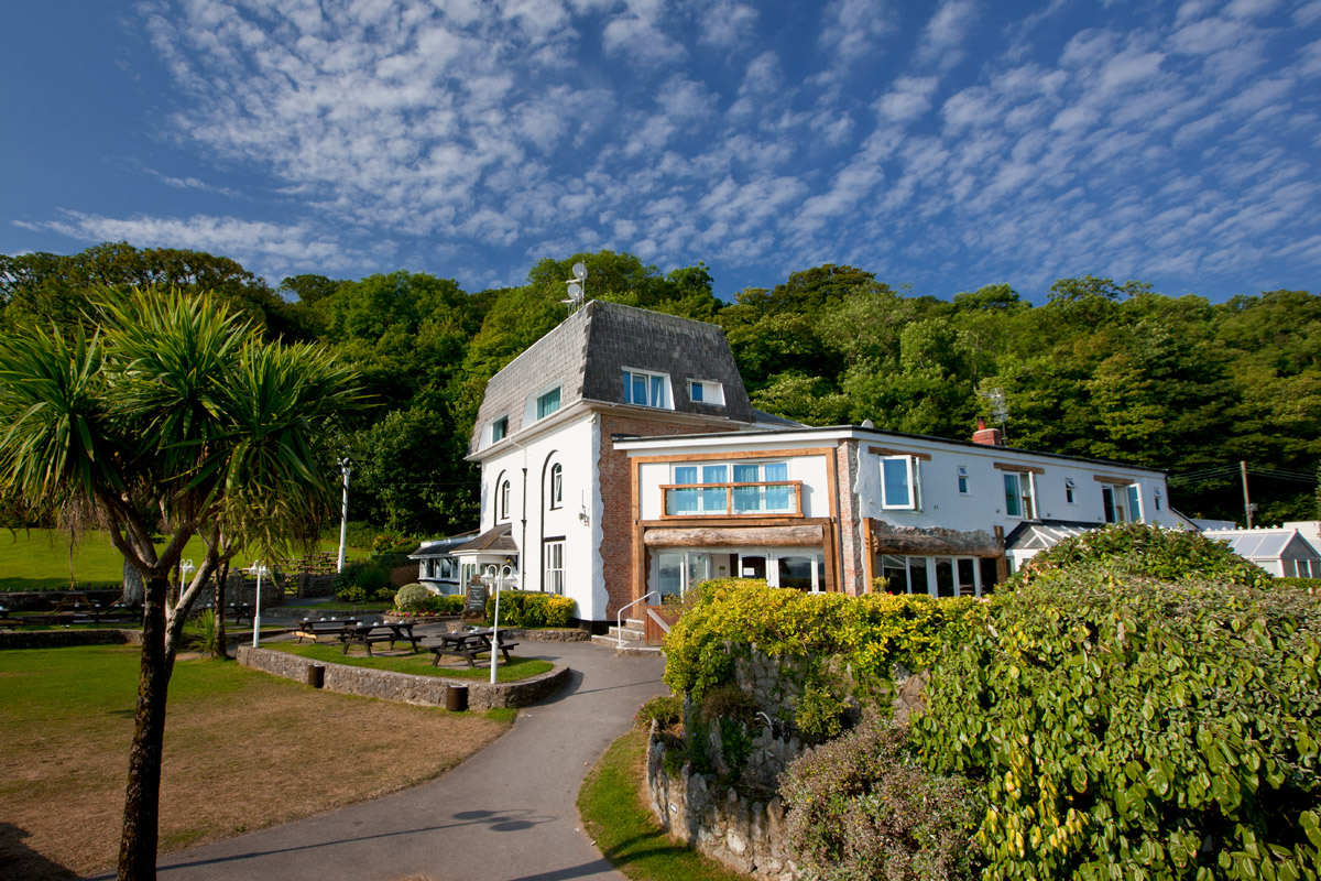One Night Gower Coastal Break for Two at the Oxwich Bay Hotel