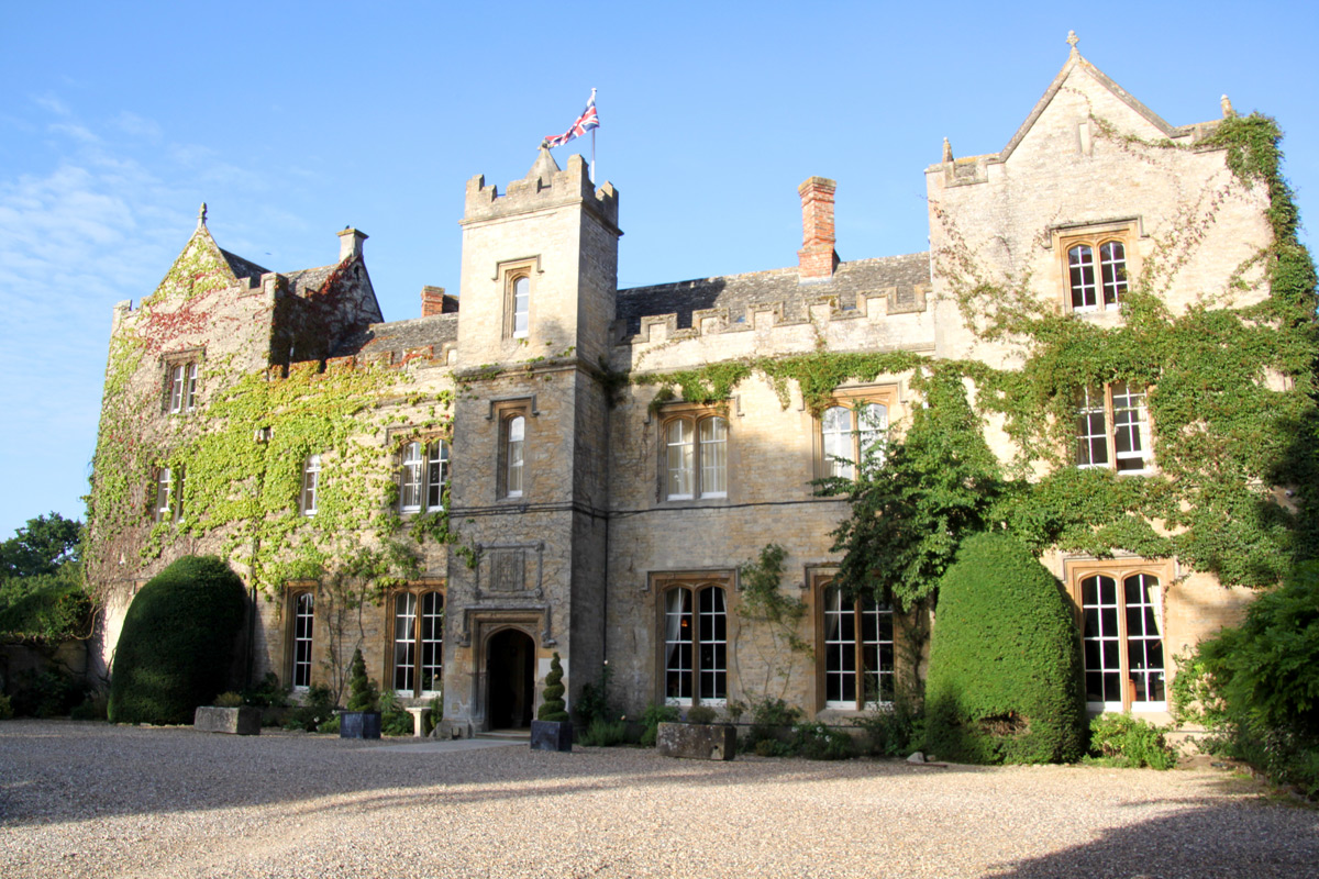 One Night Oxfordshire Break for Two at The Manor Country House Hotel