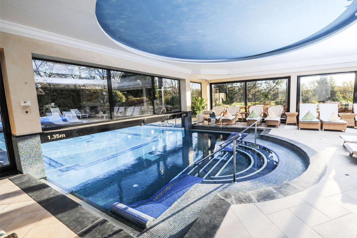 Revitalising Spa Day with Treatment and Prosecco Afternoon tea at Fredrick's Hotel & Spa