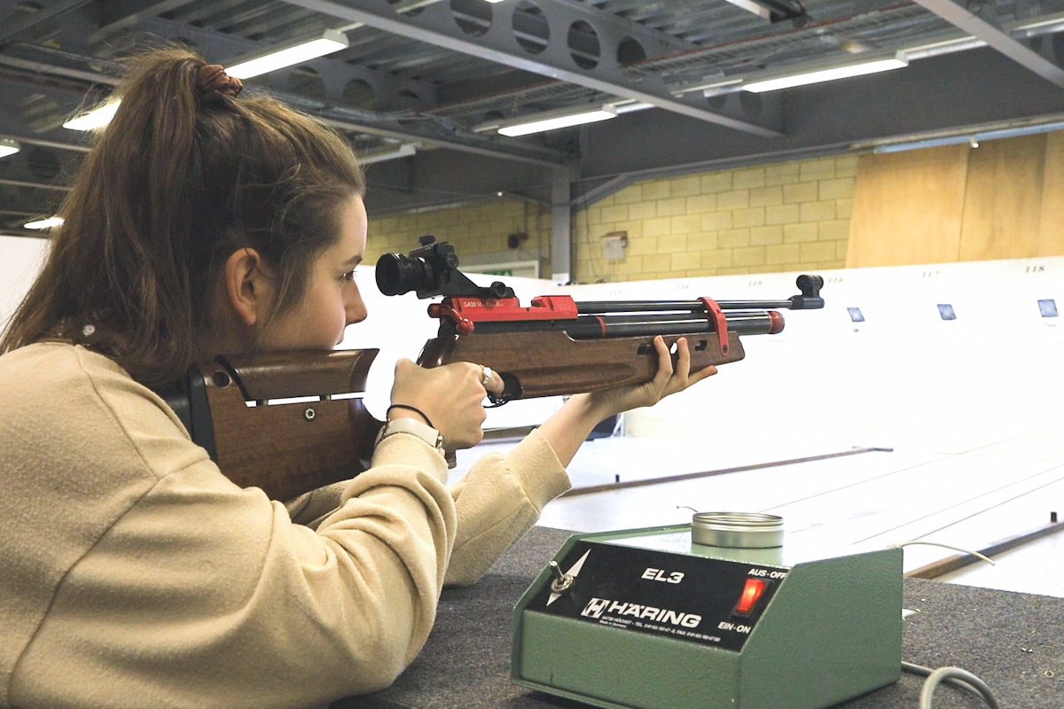 Rifle Target Shooting Experience at Bisley Camp