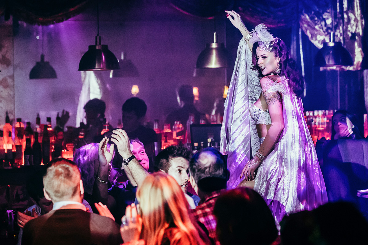 Show, Three Course Dining and Cocktail for Two at FEST Cabaret, London