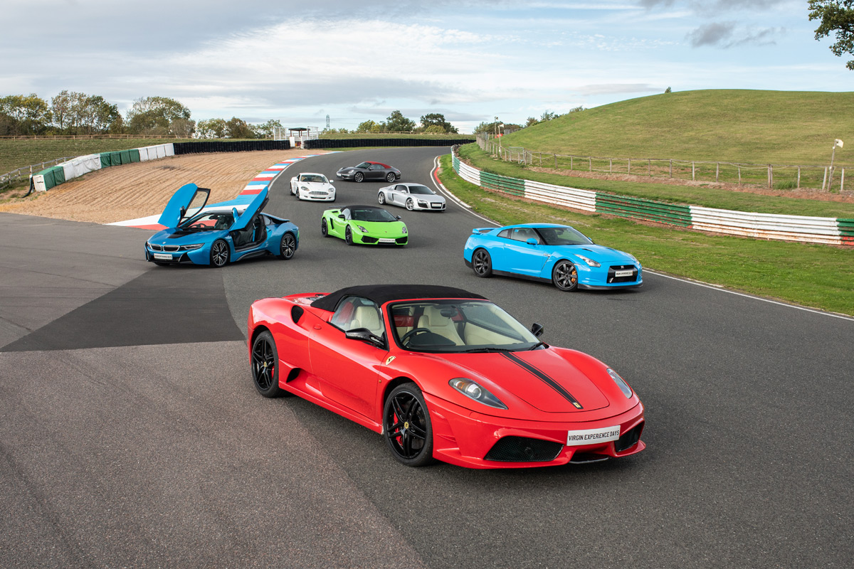Six Supercar Blast