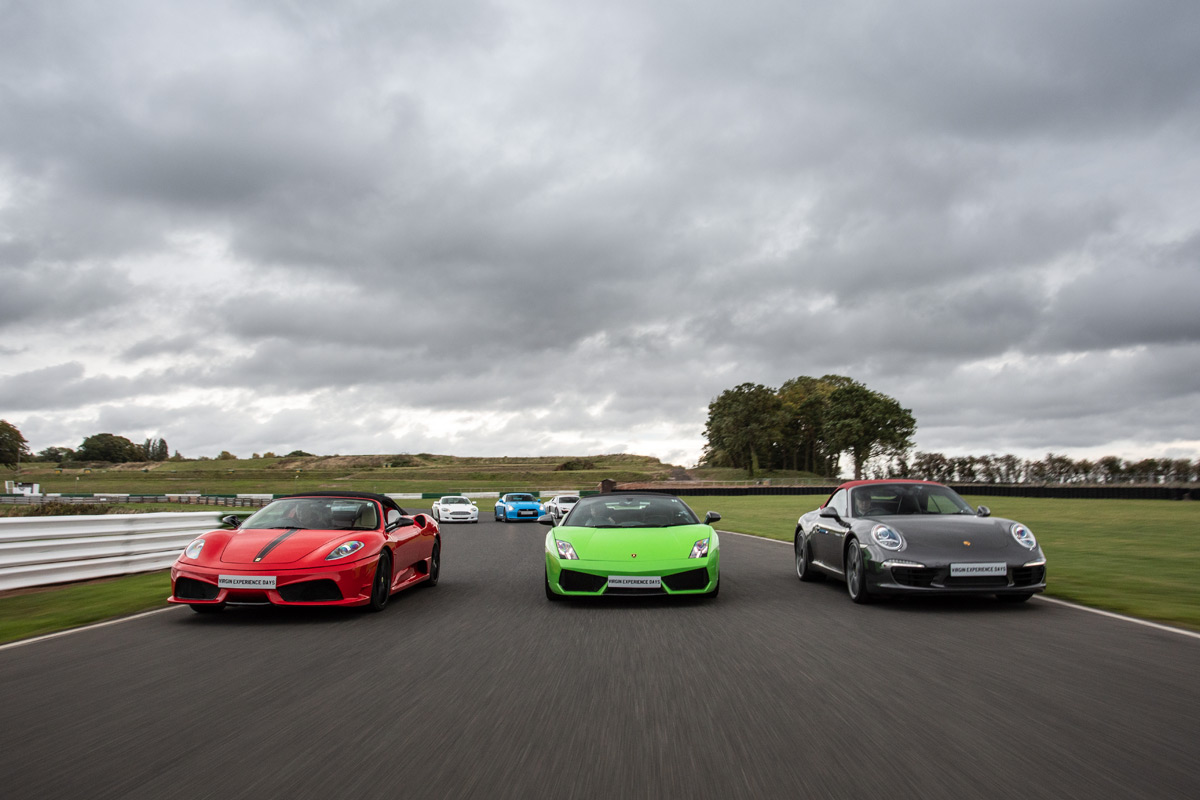 Six Supercar Blast plus High Speed Passenger Ride and Photo