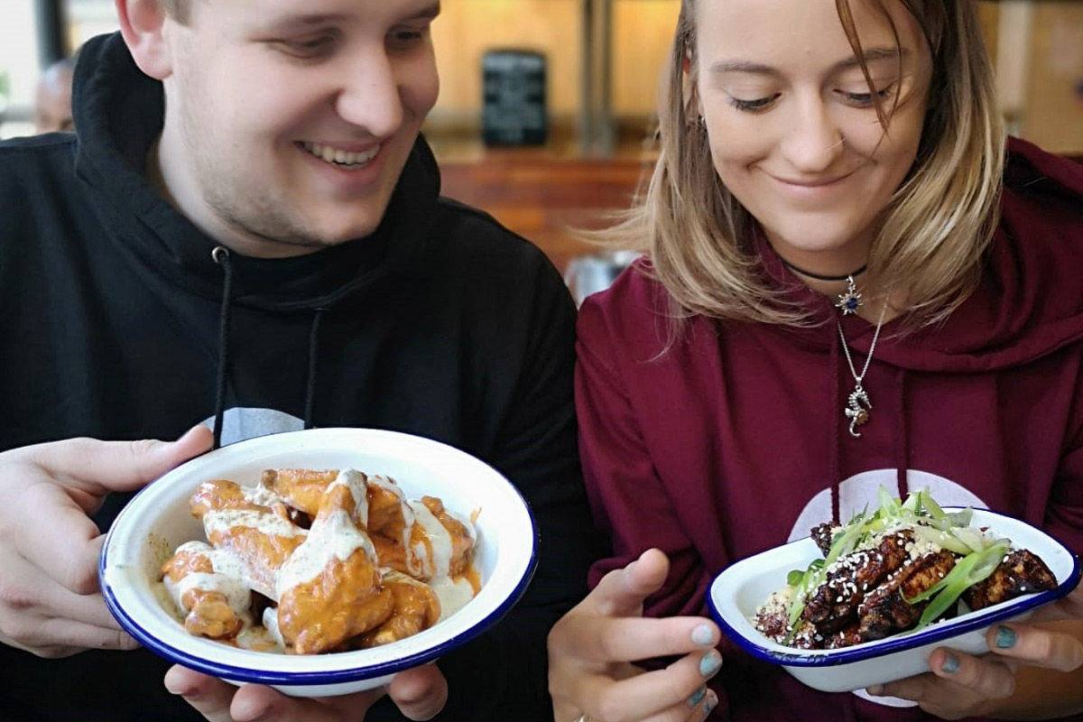 The Ultimate East London Chicken Wing Crawl for Two