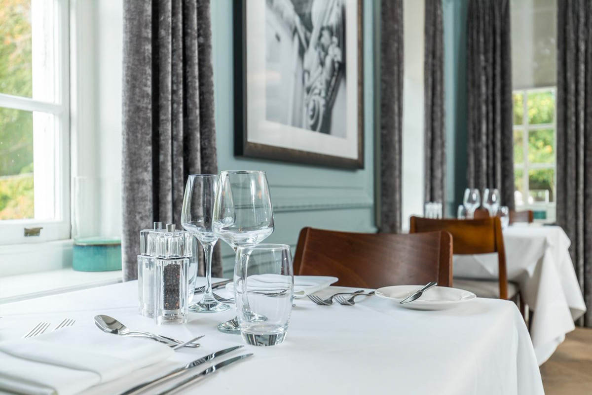 Three Course Dinner and Wine for Two at the Gorse Hill Hotel