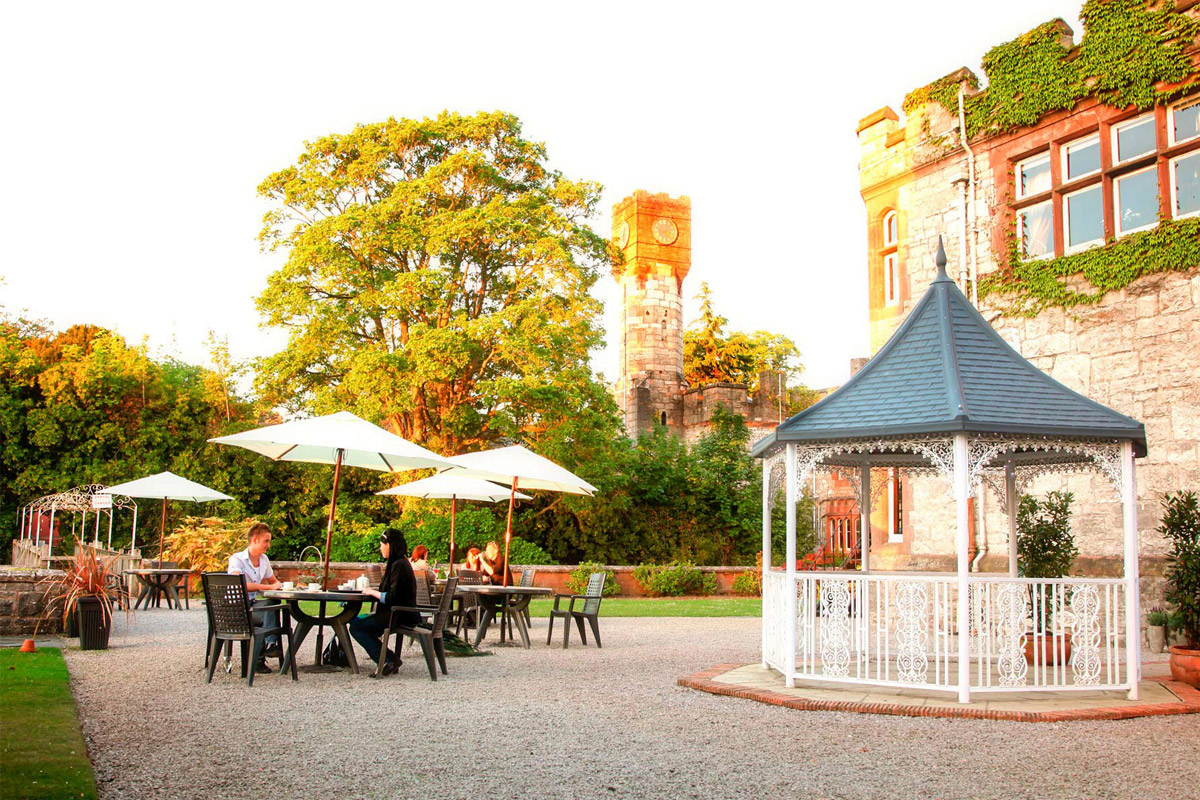 Traditional Tea in a Castle for Two