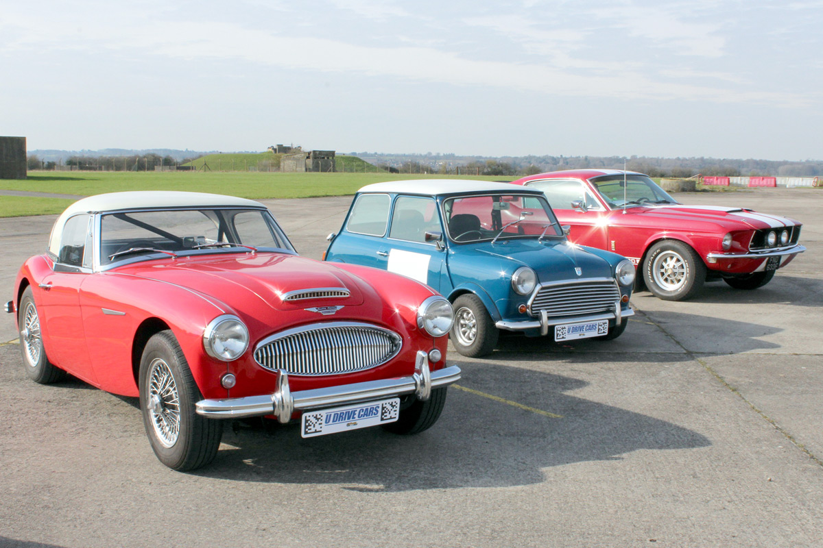 Triple Classic Car Driving Experience at Bicester Heritage