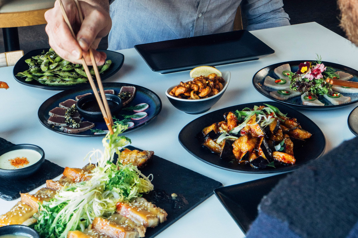 Unlimited Asian Tapas and Sushi with Free-Flowing drinks for Two at inamo