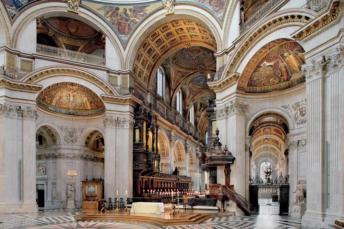 Visit to St Paul's Cathedral with Sparkling Wine Afternoon Tea for Two
