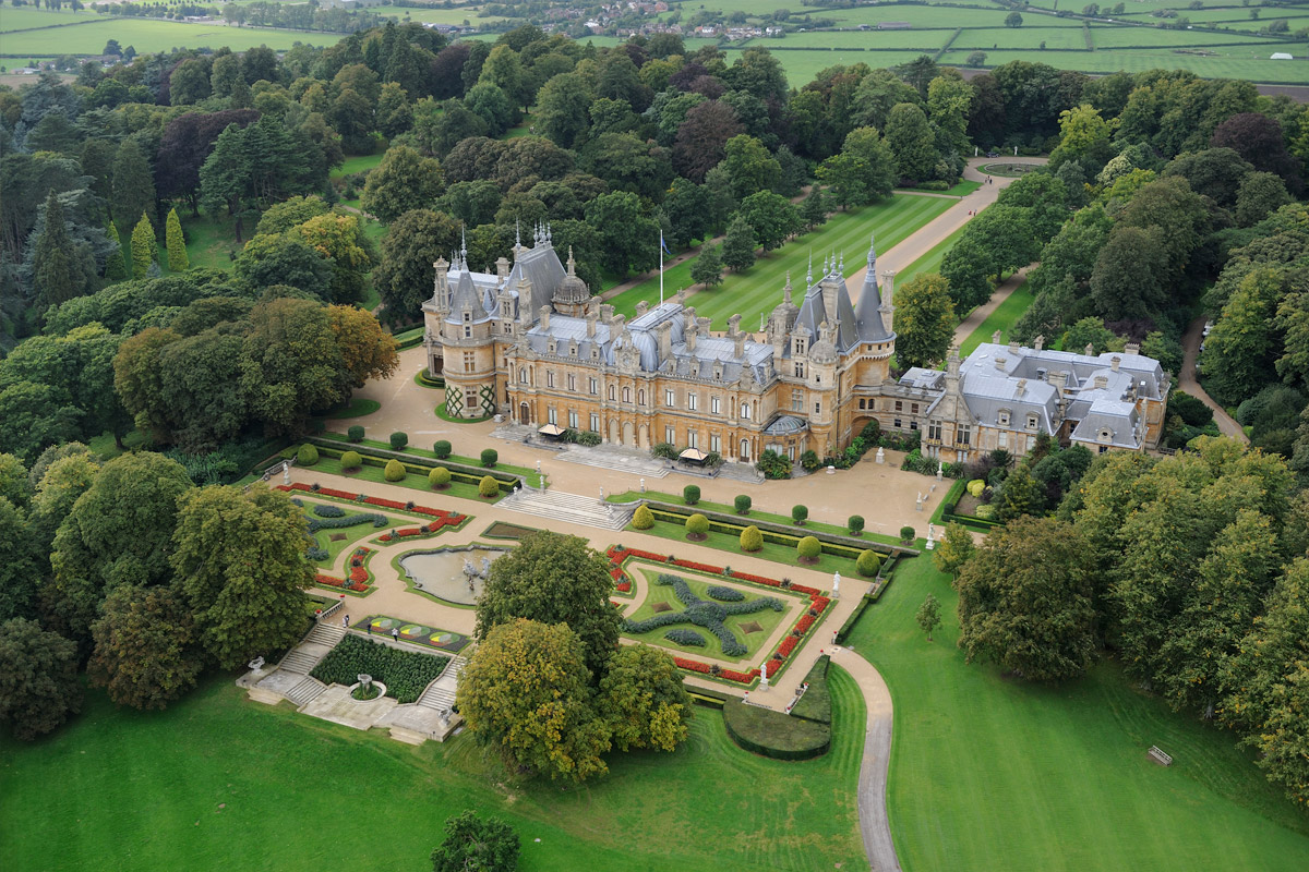 Visit to Waddesdon Manor House & Gardens with Afternoon Tea for Two