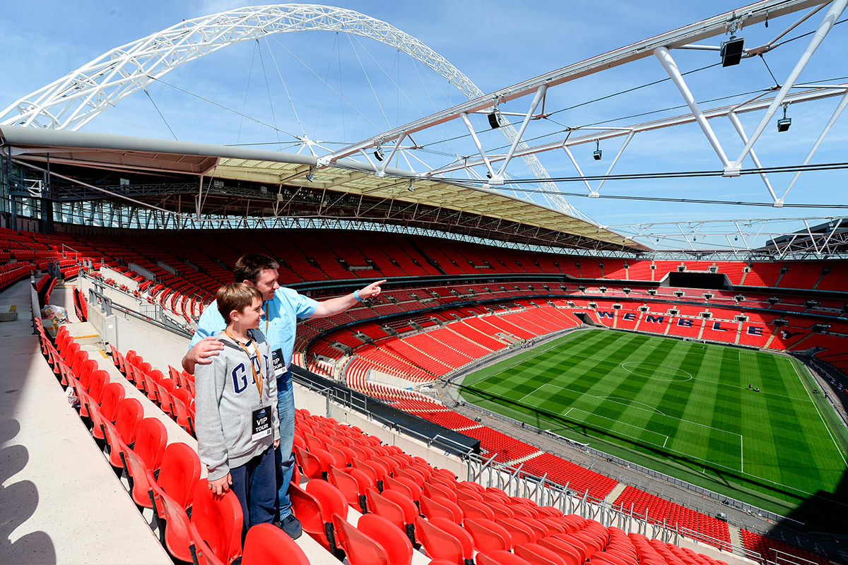 Wembley Stadium Tour for Two
