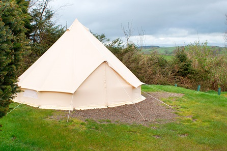 Two Night Bell Tent Glamping Break for Two at The Quiet Site, Lake District