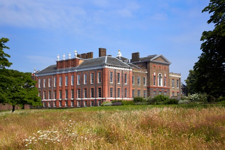 Visit to Kensington Palace and Sharing Platter with Champagne at Harrods for Two