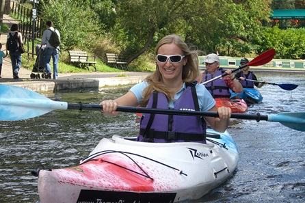 Kayak Adventure Tour of London's Regents Canal for One