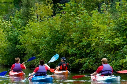 Kayak Adventure Tour of Historic Windsor for Two with a Glass of Bubbly