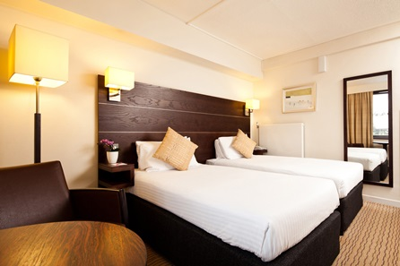 One Night Break for Two at the Edinburgh City Hotel, Princes Street