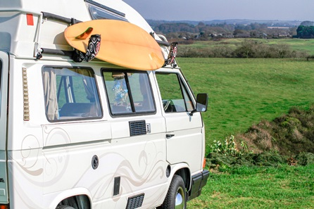 Romantic Rover Tiki-Van Summer Weekender Break on The Gower Coast