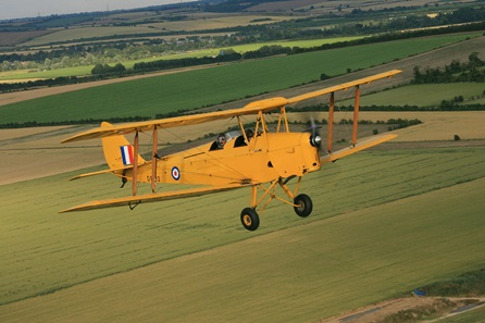 15 minute Tiger Moth Flight and IWM Duxford Entry