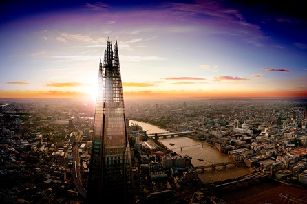 The View from The Shard and Three Course Lunch at Gaucho for Two