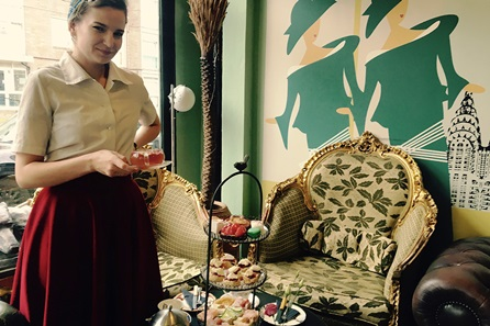 Afternoon G and Tea Time for Two at Metrodeco Tea Salon, Brighton