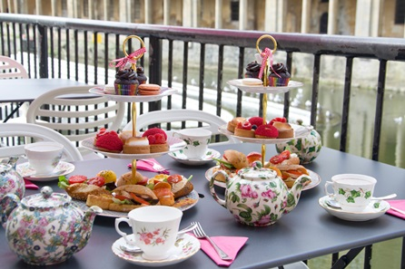 Afternoon Tea for Two at B Bakery Pulteney Bridge, Bath