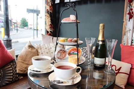 Champagne Afternoon Tea for Two at a Champagne + Fromage Bistro