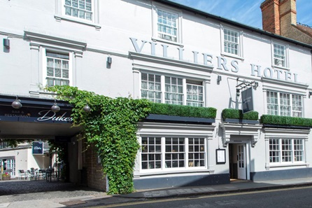 One Night Break for Two at Villiers Hotel