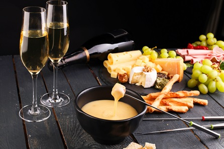 Champagne and Cheese Tasting for Two at the Smart School of Cookery