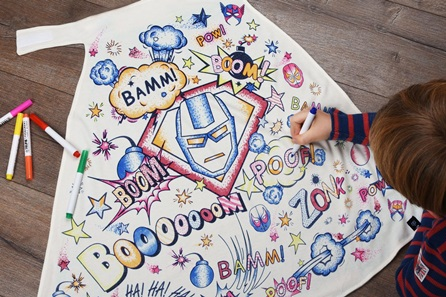 Children's Colour-In Creative Kit - Super Hero Cape