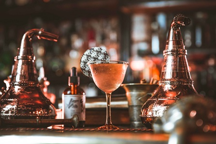 Cocktail Masterclass and Two Course Meal for Two at MAP Maison