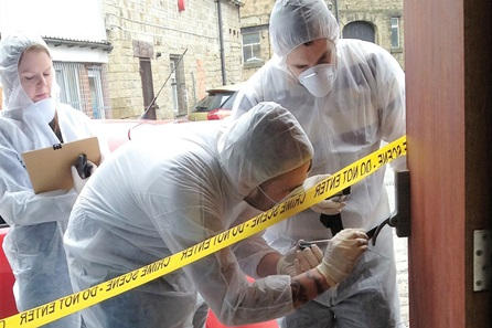 Crime Scene Investigation Experience Day