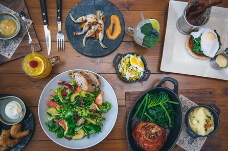 Curiously British Brunch for Two at Mr Fogg's Tavern, Covent Garden
